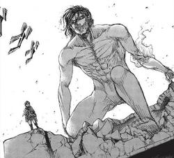Erens Titanenform Manga
