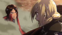 Historia tells Ymir she is not making sense
