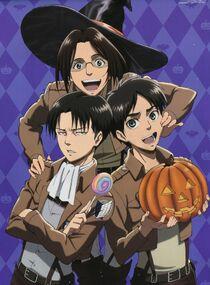 SnK halloween