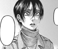 Mikasa cries
