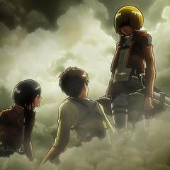 Armin listo para persuadir a las Tropas de Guarnición.