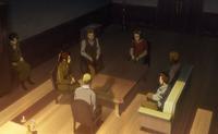 Erwin na spotkaniu ze zwiadowcami