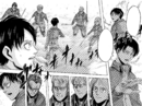 Levi tries to calm down his squad