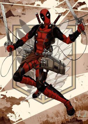 Attack-on-titan-x-marvel-spiderman