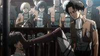 Levi verprügelt Eren