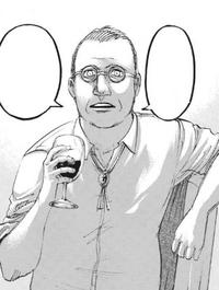 Rogue trinkt Wein