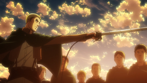 Erwin begins the operation to retake Wall Maria
