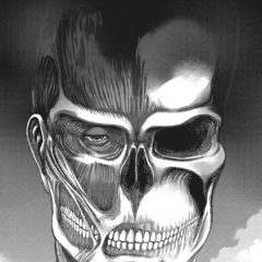 Armin ve al Titán Colosal en sus sueños.