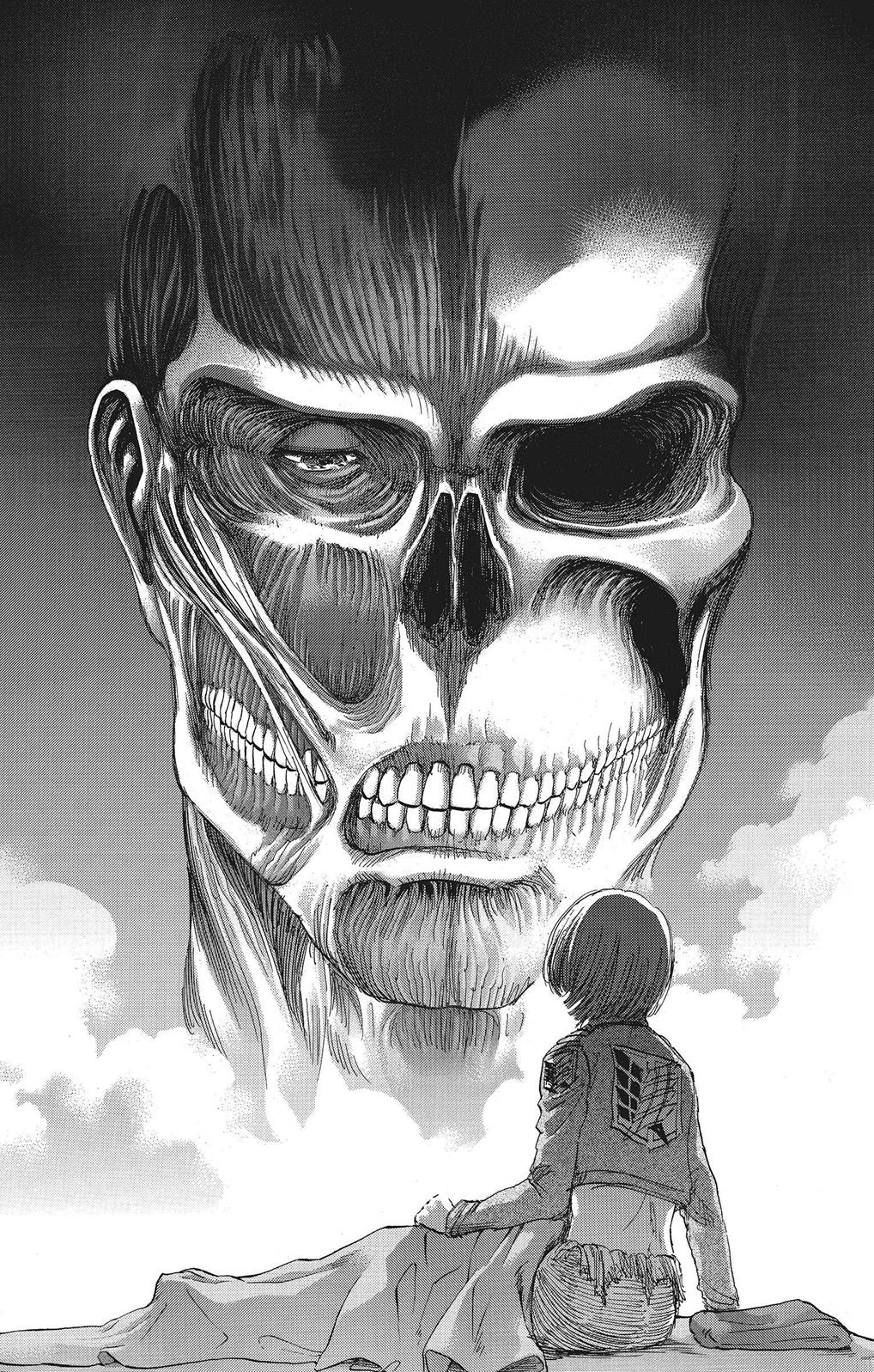 Image - Armin sees the Colossus Titan in his dream.png ...