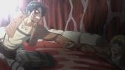 Eren sauvant Armin