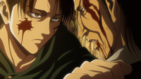Levi asks how Kenny knew his mother