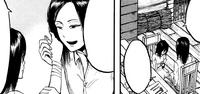 Mikasa inherits her mark