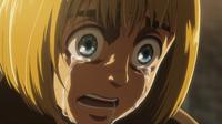 Ein traumatisierter Armin weint