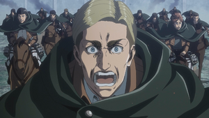 Erwin leads the suicide charge