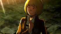 Armin's pride as a soldier