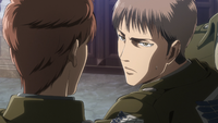 Jean asks Floch not to argue at a funeral