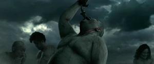Titan mangeant un humain (Live-Action)