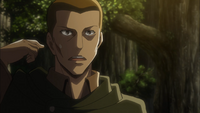 Keiji expresses his concern to Erwin