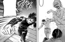 Eren tries to use the coordinate