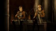 Jean et Marco discutent