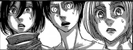 File:Mikasa Eren Armin shocked.png