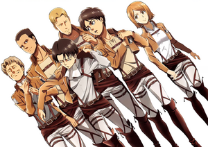 The Levi Squad Poster