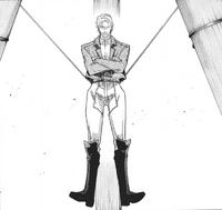 Xavi maintains his balance
