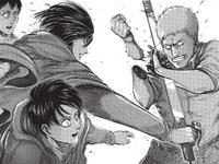 Mikasa verletzt Reiner schwer