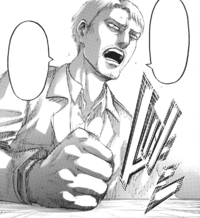 Reiner suggests launching an immediate surprise attack on Paradis