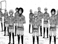 Some of the 104th trainees join the Survey Corps