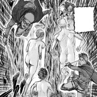 Titans ignore Goggles and his comrades