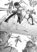 Levi kills soldiers