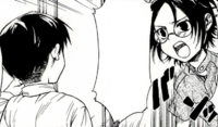 Hange attempts to compromise with Levi