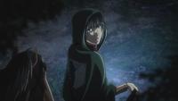 Mikasa erkennt den Ort wieder