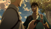 Bertholdt embarrassed by his feelings for Annie