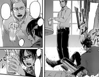 Hange wpada do Erwina