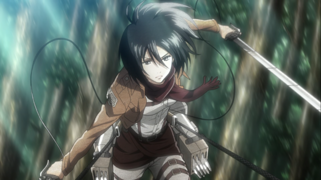 File:Mikasa during the military training.png