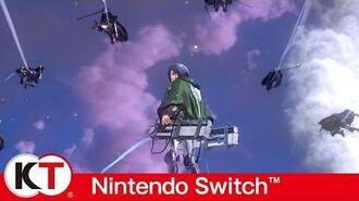 Attack on Titan 2 - Nintendo Switch Gameplay Trailer