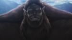 The Beast Titan grins
