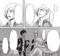 Annie says that she respects Eren