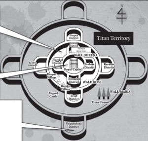 Attack On Titan Karte.Mauern Attack On Titan Wiki Fandom Powered By Wikia
