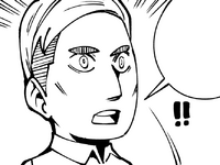 Erwin realizes who Hange is researching
