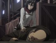 Mikasa attaque reeb Anime