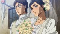 Carla und Grisha heiraten