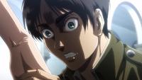 Eren sees Grisha's memories in the Reiss Chapel