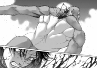 Levi besiegt den Tiertitan
