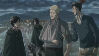 Reiner tells Eren the truth