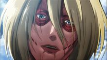 Female Titan close up
