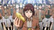 Sasha offre une patate