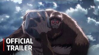 Attack on Titan Season 3 Part 2 Trailer - Official PV English Sub CC